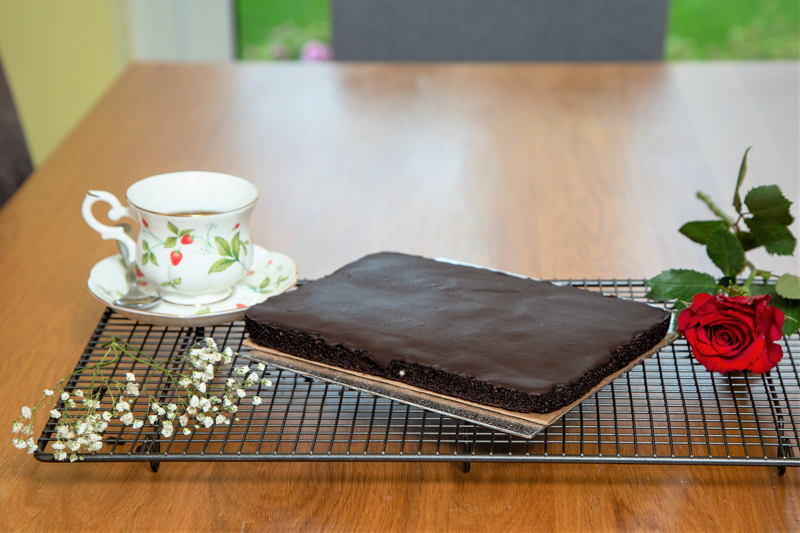 Chocolate cake by post