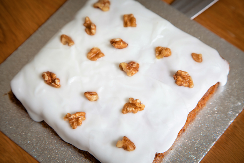 Carrot cake from the cake mix